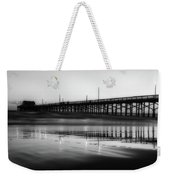 Newport Beach Pier At Sunrise Weekender Tote Bag
