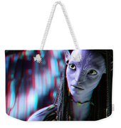 Neytiri - Use Red And Cyan 3d Glasses Weekender Tote Bag