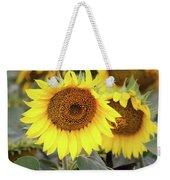 Nice Sunflowers Weekender Tote Bag