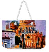 Night Venice Weekender Tote Bag