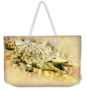 Nile River Crocodile Weekender Tote Bag
