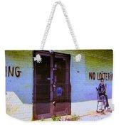 No Loitering Weekender Tote Bag