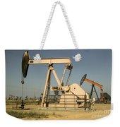 Nodding Donkey Oil Pumps Weekender Tote Bag