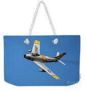 North American F-86 Sabre Weekender Tote Bag