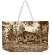 North Maine Cabin Weekender Tote Bag
