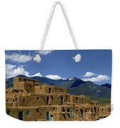 North Pueblo Taos Weekender Tote Bag by Kurt Van Wagner