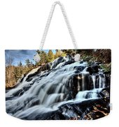 Northern Michigan Up Waterfalls Bond Falls Weekender Tote Bag