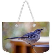 Northern Mockingbird Weekender Tote Bag