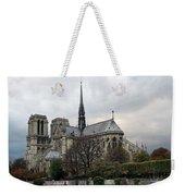 Notre Dame Cathedral In Paris, France Weekender Tote Bag
