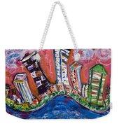Nyc Impressions 3 Weekender Tote Bag