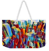 Nyc View Weekender Tote Bag