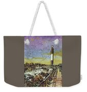 Oak Island Lighthouse Weekender Tote Bag