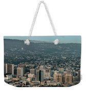 Oakland California Skyline Weekender Tote Bag