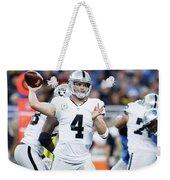 Oakland Raiders Weekender Tote Bag