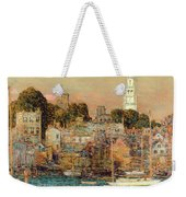 October Sundown Weekender Tote Bag by Childe Hassam