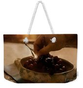 Oh Michael - Peel Me A Grape  Weekender Tote Bag