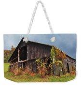 Ohio Barn In The Fall Weekender Tote Bag