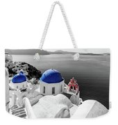 Oia, Santorini / Greece Weekender Tote Bag