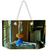 Oil Lamp And Bible Weekender Tote Bag