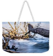 Old Dead Trees On Shores Of Edisto Beach Coast Near Botany Bay P Weekender Tote Bag