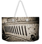 Old Dodge Grille Weekender Tote Bag