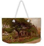 Old Farm House In The Catskills Weekender Tote Bag