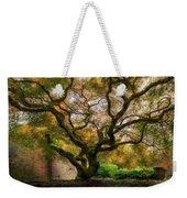 Old Japanese Maple Tree Weekender Tote Bag