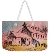 Old Mill Cable Ghost Town Montana_ Weekender Tote Bag
