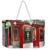 Old Pharmacy Weekender Tote Bag