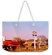 Old Signs At The Mother Road - Standard Oil And Motel - Route 66 Weekender Tote Bag