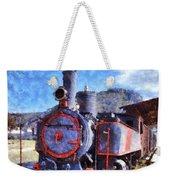 Old Steam Train In Nafplio Town Weekender Tote Bag