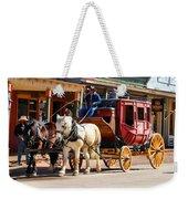 Old Tucson Stagecoach Weekender Tote Bag