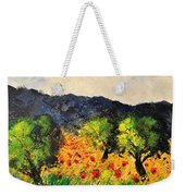 Olive Trees And Poppies  Weekender Tote Bag