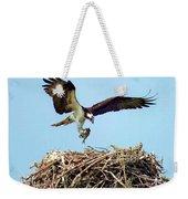 Open Wings Weekender Tote Bag by Karen Wiles