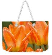 Orange Tulips Weekender Tote Bag