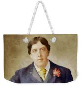 Oscar Wilde, Literary Legend Weekender Tote Bag