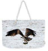 Osprey Fishing In The Afternoon Weekender Tote Bag