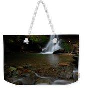 Otter Falls - Seven Devils, North Carolina Weekender Tote Bag