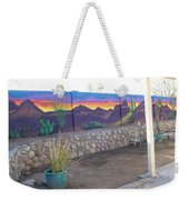 Outside Mural Weekender Tote Bag