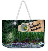 Over 100 Yrs In Bloom, Historic Garden Icon, The Butchart Gardens. Weekender Tote Bag