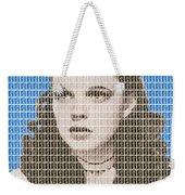 Over The Rainbow Blue Weekender Tote Bag