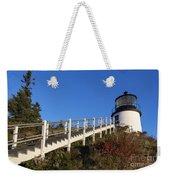 Owls Head Lighthouse Weekender Tote Bag