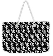 Oz Australia Black On White. Weekender Tote Bag