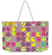 Pacman Seamless Generated Pattern Weekender Tote Bag