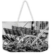 Paddlewheel Riverboat Traveling Down The Ohio River Toward Cinci Weekender Tote Bag
