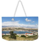 Pag Old Town In Croatia Weekender Tote Bag