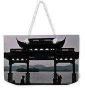 Pagoda At Dusk Weekender Tote Bag