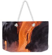 Pahoehoe Lava Flow Weekender Tote Bag
