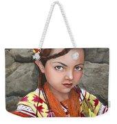Pakistani Girl Weekender Tote Bag