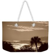 Palms In The Clouds Weekender Tote Bag